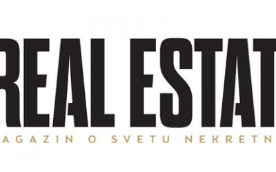 """ИНТЕРВЈУ ЧАСОПИСУ """"REAL ESTATE"""""""