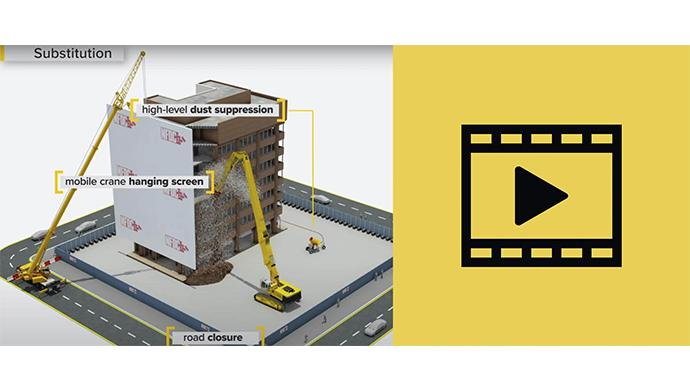 НФДЦ објављује нови видео са упутствима за безбедност при употреби скела у индустрији рушења